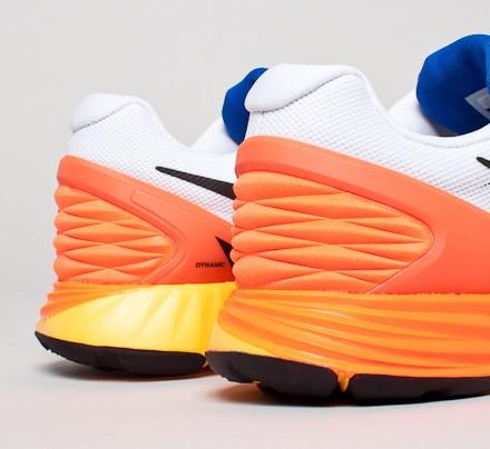 Nike Lunarglide 6 - Blanco / Negro Carmesí / Hiper / Cobalto Hiper sUpfZK