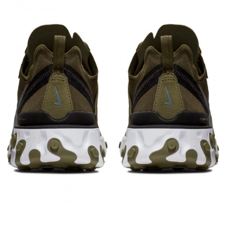 new style 7ed52 e1e9a Nike React Element 55  Medium Olive  (Medium Olive Cool Grey-Black White) -  BQ6166-200 - Consortium.