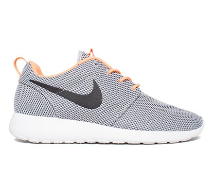 half off 89113 472c3 Nike Rosherun (Wolf GreyBlack-Atomic Orange-White) - Consort