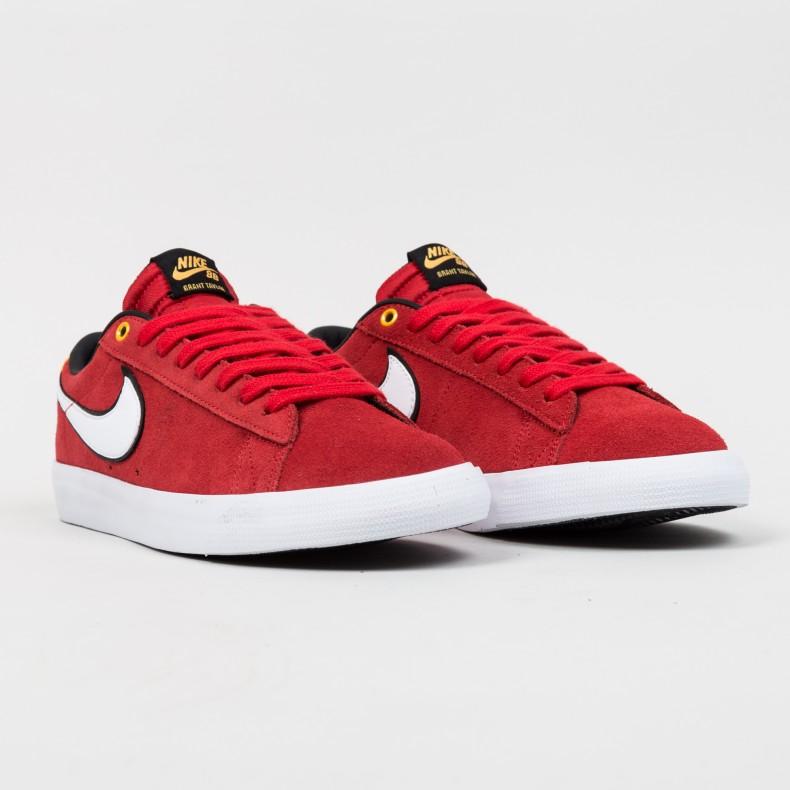 best loved 5fcf9 16ca0 Nike SB Blazer Low 'Grant Taylor' (University Red/White ...