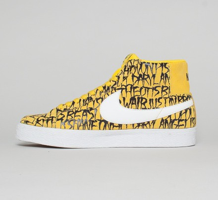 Nike SB Blazer Premium 'Chronicles Vol  2' (Tour Yellow