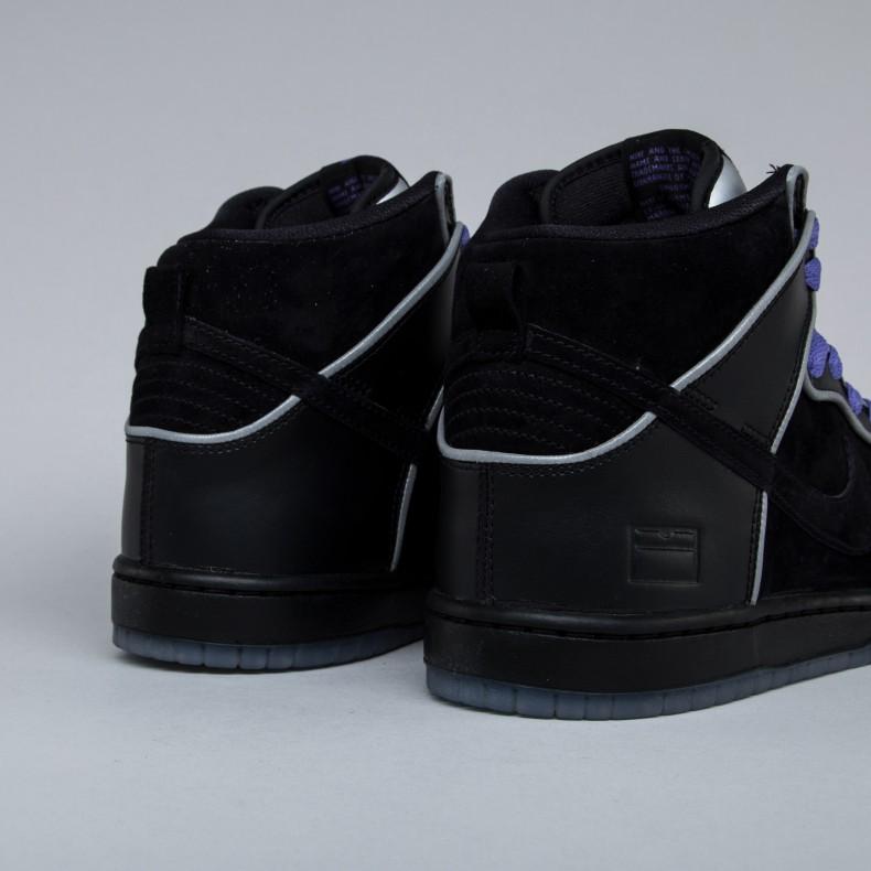 new product 92df4 ba5ad Nike SB Dunk High Elite 'Black Box' (Black/Black-White ...
