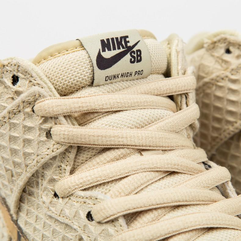 7dce067b627 Nike SB Dunk High Premium  Chicken and Waffles  QS (Flat Gold Star Classic  Brown) - Consortium.