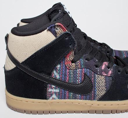 best website 6de29 42059 Nike SB Dunk High Premium 'Hacky Sack' QS (Multi-Color/Black ...