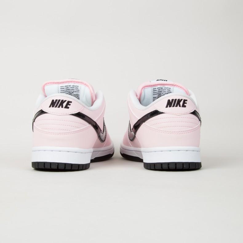 fc28ef97120c Nike SB Dunk Low Elite  Pink Box  (Prism Pink Black-White) - Consortium