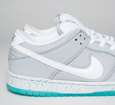 outlet store c136d 0a7d2 Nike SB Dunk Low Premium 'Marty McFly' QS (Wolf Grey/White ...