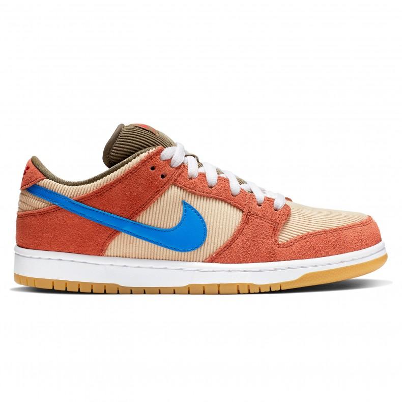 first rate 44a28 3a5b2 Nike SB Dunk Low Pro  Corduroy  (Dusty Peach Photo Blue-Desert Ore) -  BQ6817-201 - Consortium