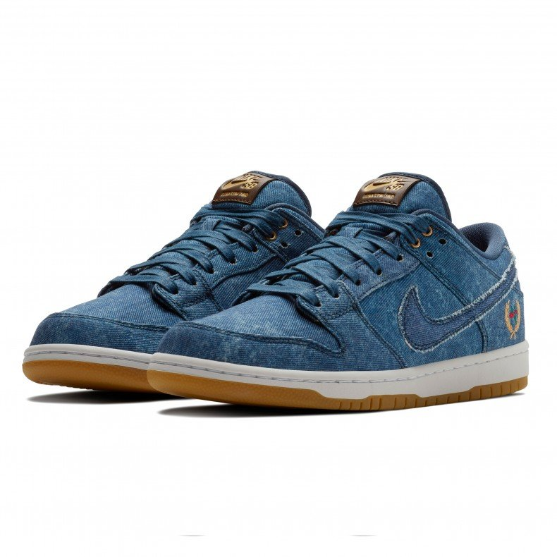 buy online 433b7 08862 Nike SB Dunk Low Pro 'Rivals Denim Pack' (Utility Blue ...