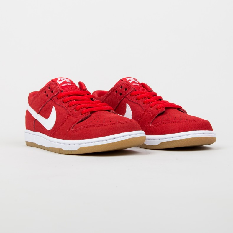 buy popular 4750d 1a31d Nike SB Dunk Low Pro  Ishod Wair  (University Red White-Gum Light Brown) -  Consortium.