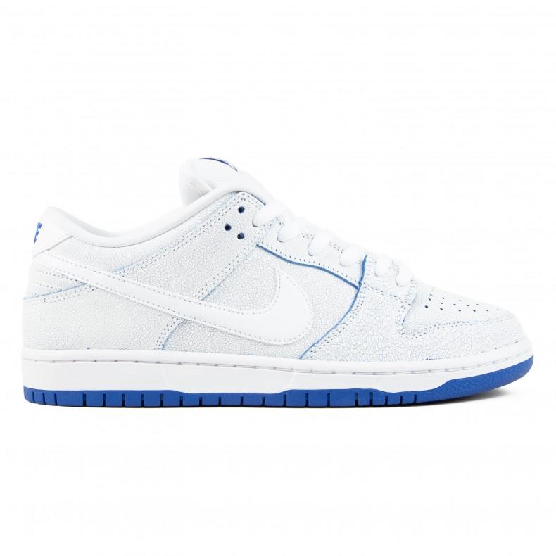 sale retailer 3463c 3194f Nike SB Dunk Low Pro Premium 'Porcelain Pack' (White/White-Game Royal)
