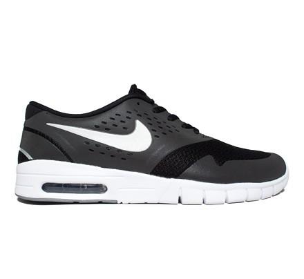 check out 8b7b3 2af85 Nike SB Eric Koston 2 Max (Black Metallic Silver-White) - Consortium.