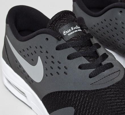huge selection of 2be42 1ae91 Nike SB Eric Koston 2 Max. (Black Metallic Silver-White)