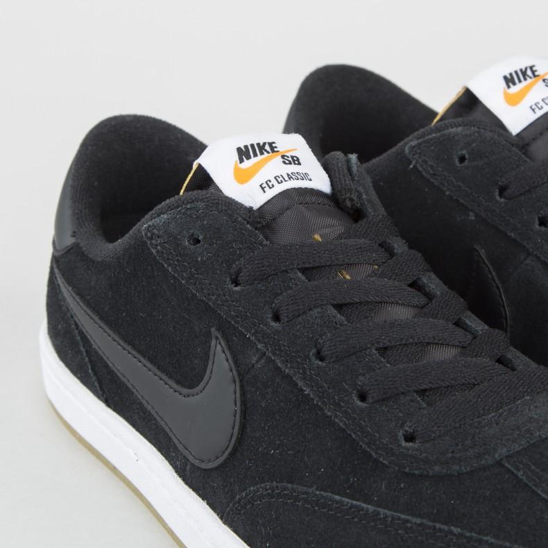 100% authentic 30071 f8ee1 Nike SB FC Classic (Black/Black-White-Vivid Orange) - Consortium.