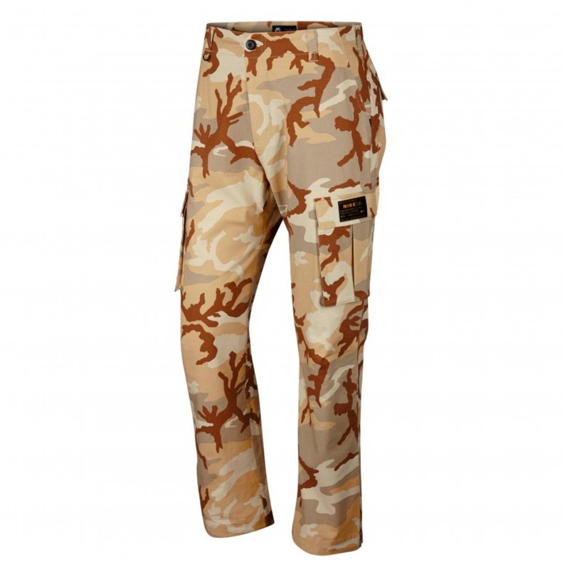 hot-seeling original shop for best variety design Nike SB Flex FTM Camo Cargo Pant (Desert Ore)