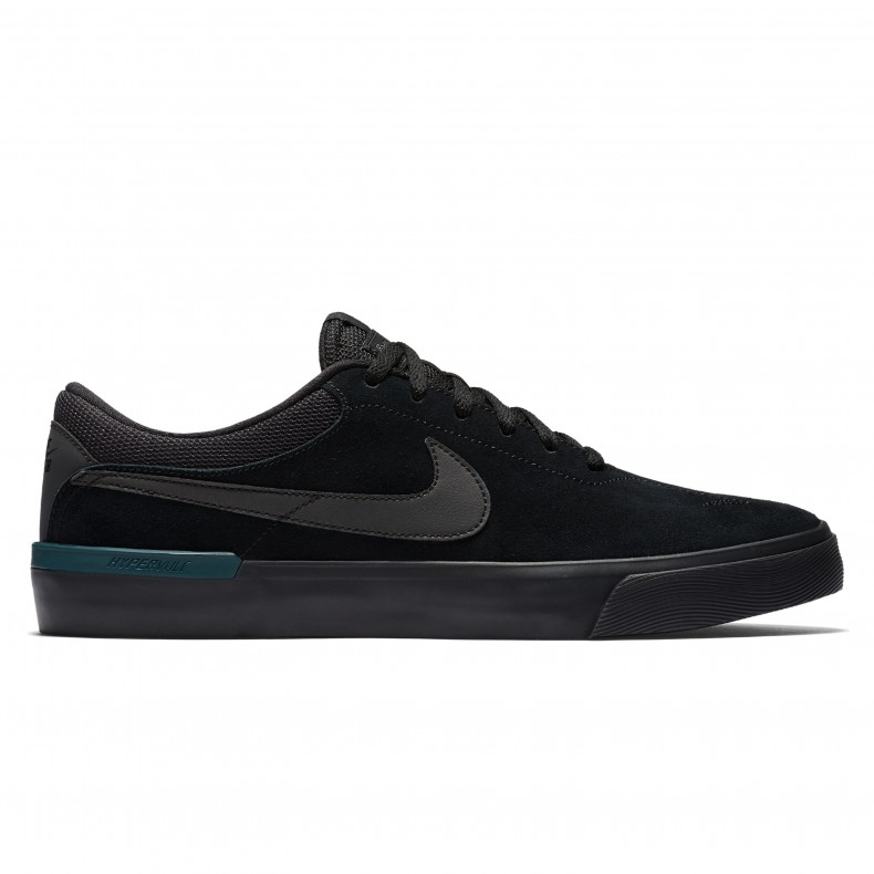 Nike SB Koston Hypervulc (Black Metallic Black-Dark Atomic Teal ... e1000edfa