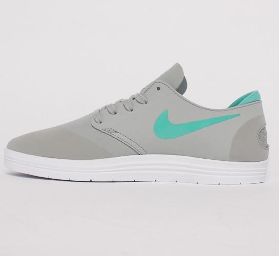 new product 7e939 11d6b Nike SB Lunar One Shot. (Base Grey Crystal Mint)