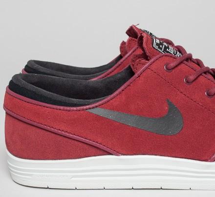 Nike Sb Stefan Janoski Lunar Negro Rojo IiTsyFA7