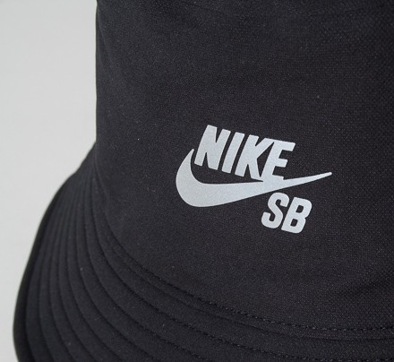 039ee2178a7 Nike SB Performance Bucket Hat (Black Reflective Silver) - Consortium.
