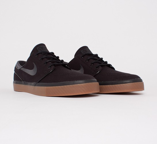 buy best new cheap nice shoes Nike SB Stefan Janoski (Black/Anthracite-Gum Medium Brown ...