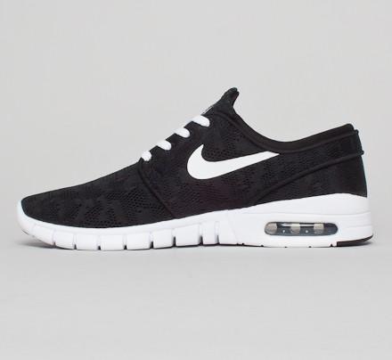 Nike Janoski Max Black White