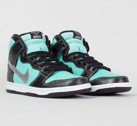 quality design bcf03 3ab14 Nike SB x Diamond Supply Co. 'Diamond Dunk High' Premium ...