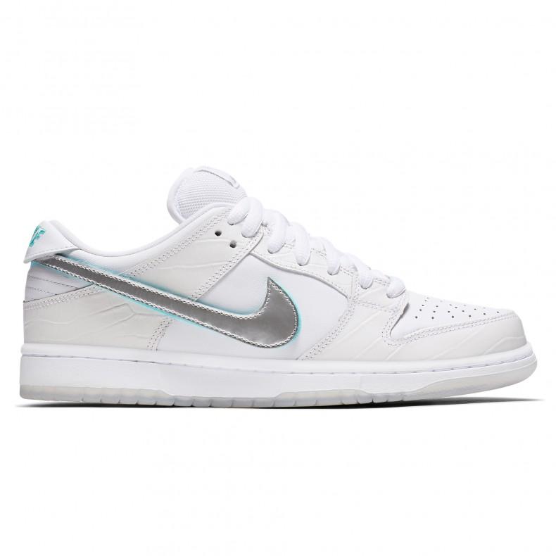5e247e3bdd Nike SB x Diamond Supply Co. Dunk Low Pro OG 'Diamond' QS (White ...