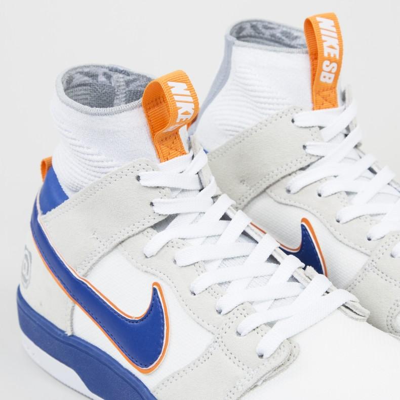 c2fa16e94d74e Nike SB x Medicom Zoom Dunk High Elite QS  Be rbrick  (White White ...