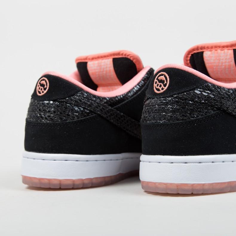 275007255bda Nike SB x Premier Dunk Low Premium  Fish Ladder  (Atomic Pink Black-White)  - Consortium.