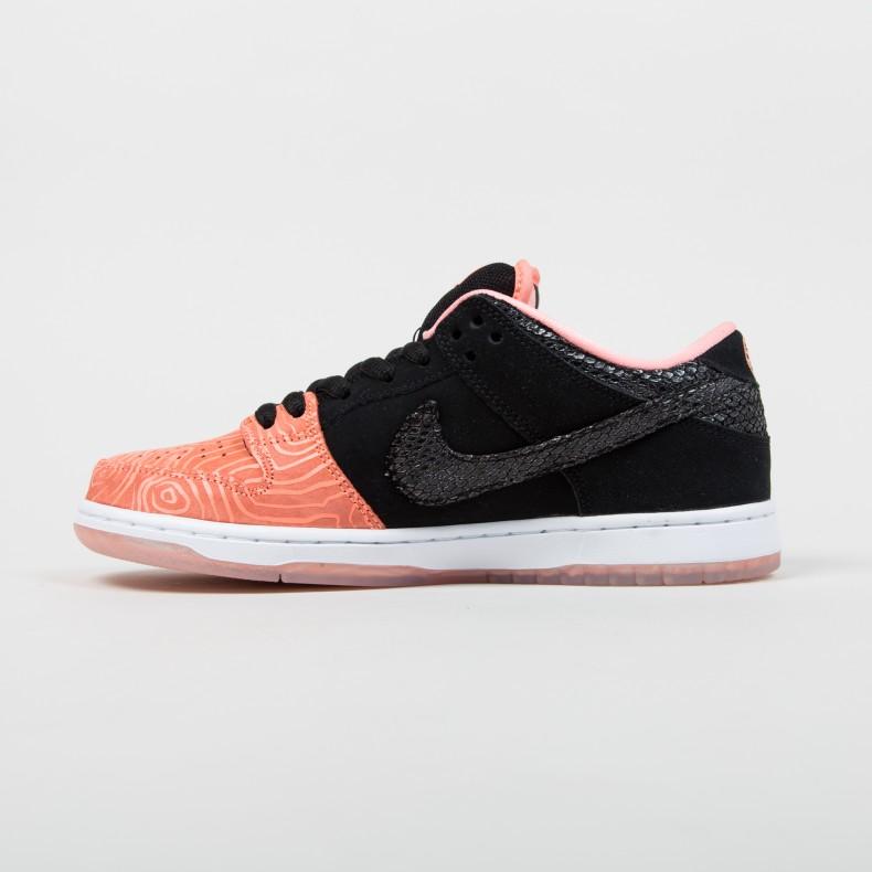 Nike Dunk Sb-bajo-prima Atómica-rosa Gato Negro Y Blanco alta calidad barata VeRoYx