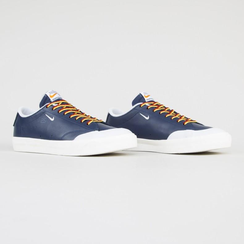 hacer un pedido zapatillas de skate nuevo estilo Nike SB x Quartersnacks Zoom Blazer Low XT (Navy/White-Sail ...