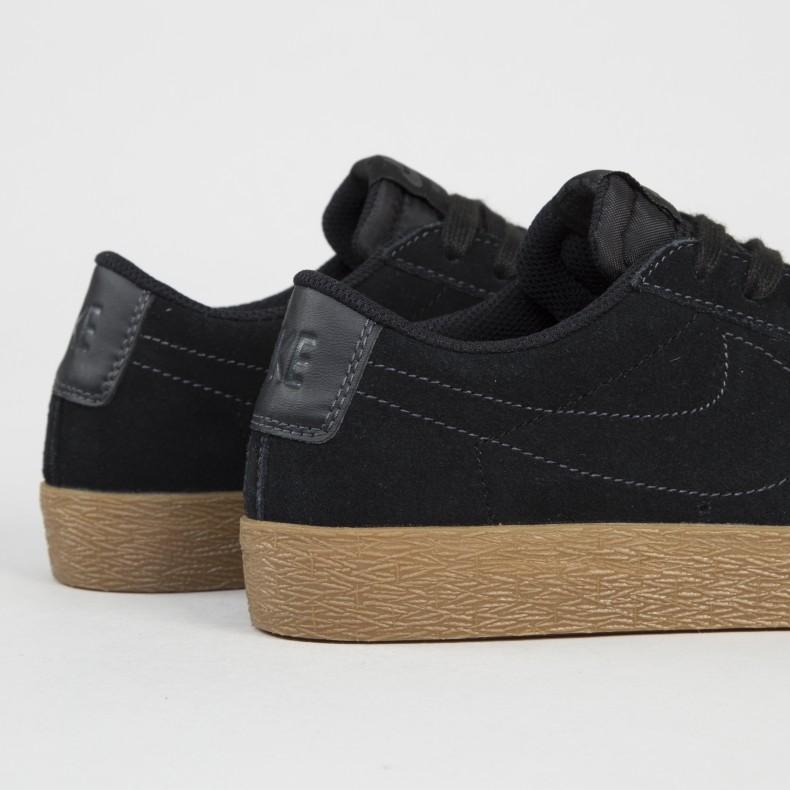 low priced fe2ba d83f4 Nike SB Zoom Blazer Low (Black/Black-Anthracite)
