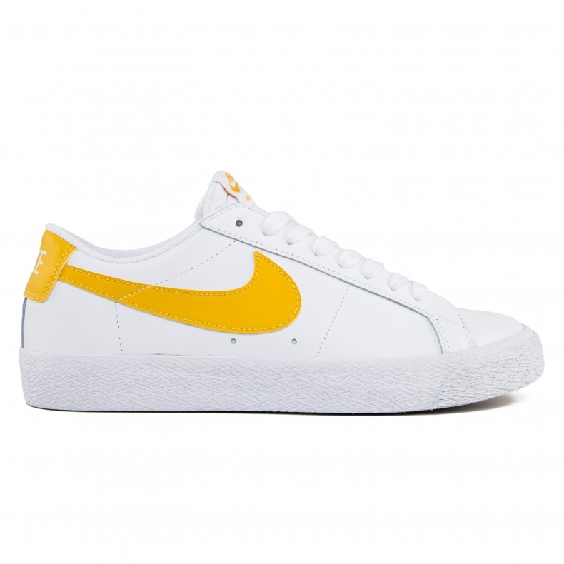8a421cfa8a21 Nike SB Zoom Blazer Low (White Mineral Gold) - Consortium.