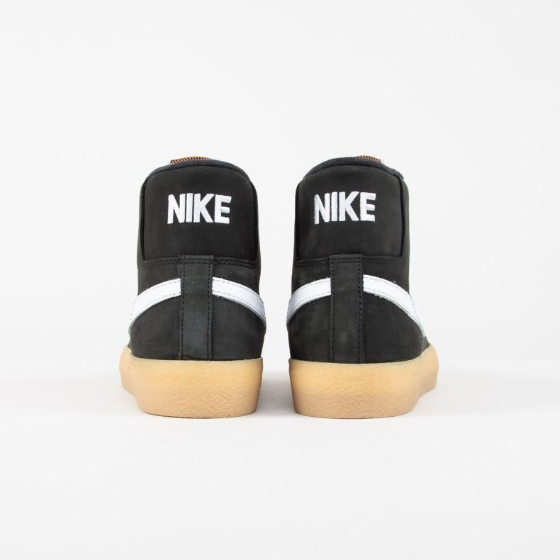 super popular 35da8 9a27c Nike SB Zoom Blazer Mid ISO  Orange Label . (Black White-Safety ...