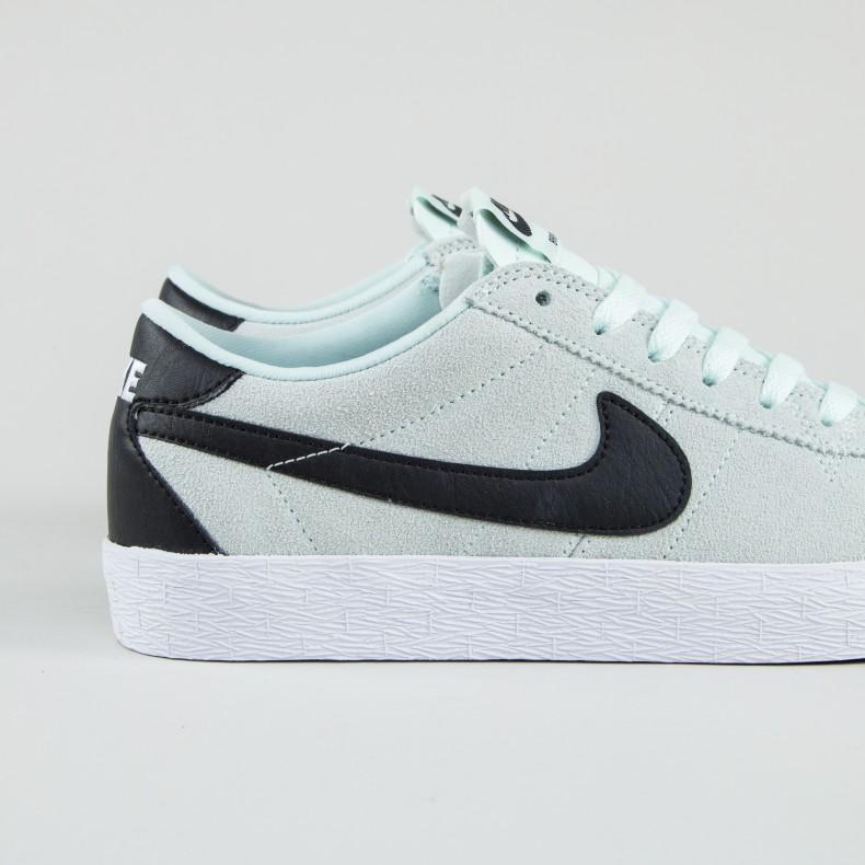 check out genuine shoes sells Nike SB Zoom Bruin Premium SE (Barely Green/Black-White-Black ...