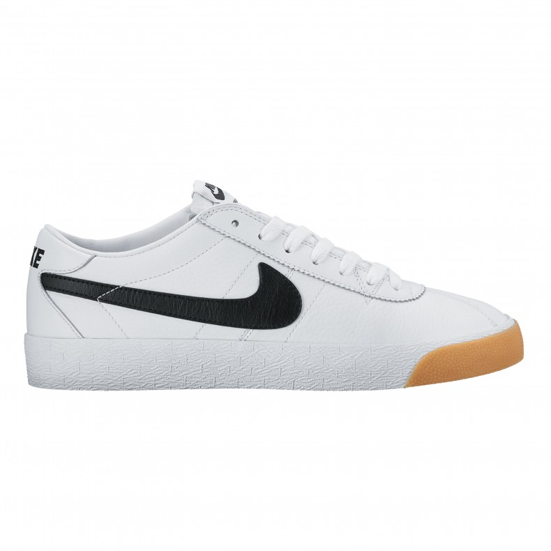 new concept 18b18 b7177 Nike SB Zoom Bruin Premium SE. (Summit White Black-White)