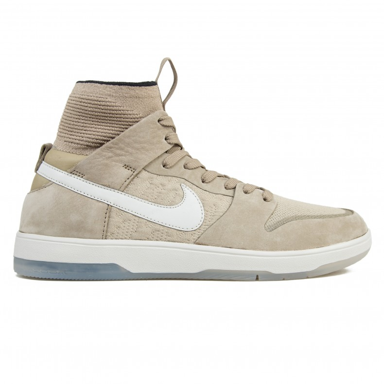 reputable site dffd4 50135 Nike SB Zoom Dunk High Elite (Khaki/Light Bone-Black ...