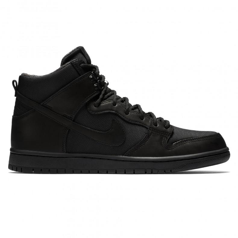 pretty nice bd03a 04442 Nike SB Zoom Dunk High Pro Bota (Black/Black-Anthracite) - Consortium.