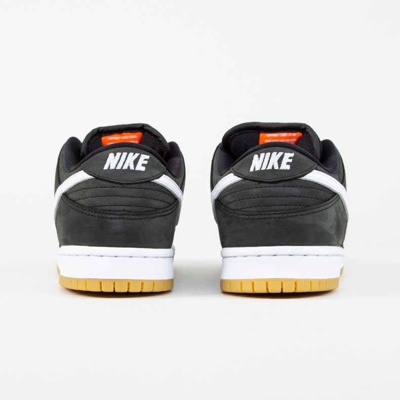 Nike SB Zoom Dunk Low Pro ISO  Orange Label  (Black White-Black ... 27834544f
