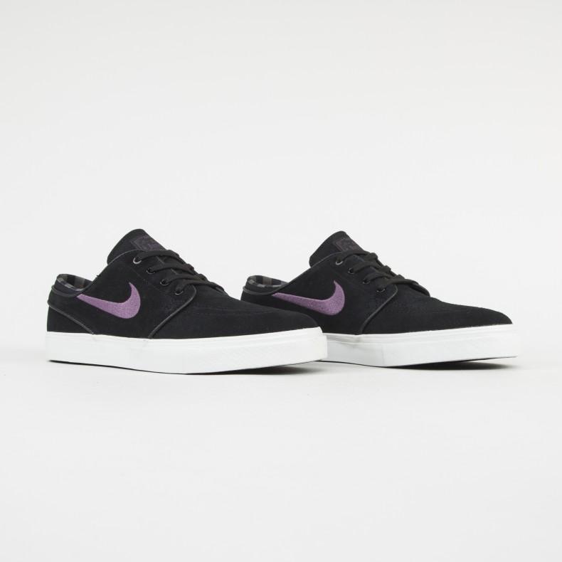 brak podatku od sprzedaży Nowa kolekcja ogromna zniżka Nike SB Zoom Stefan Janoski Black/Pro Purple-Ridgerock/Light ...