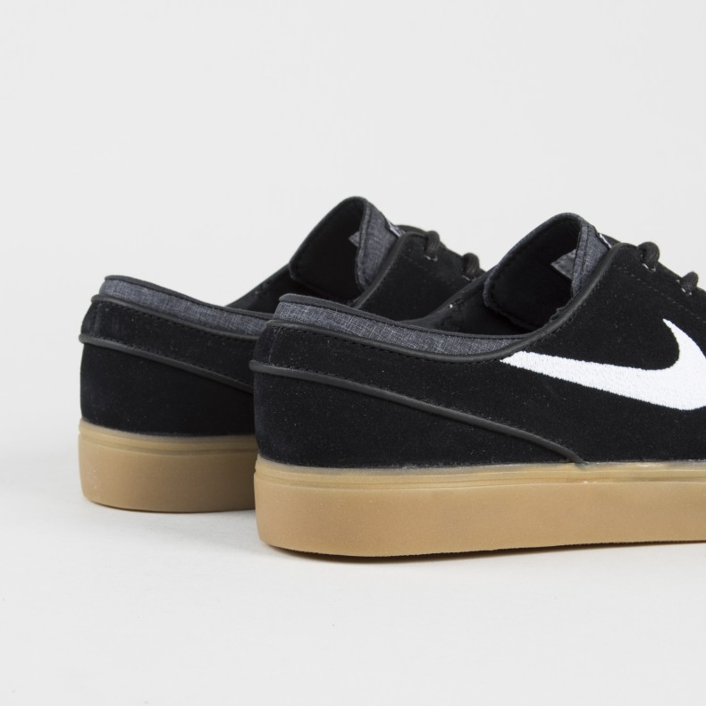 most popular special for shoe cheap for discount Nike SB Zoom Stefan Janoski (Black/White-Gum Light Brown)