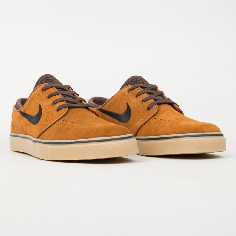 best sneakers 0dad5 29880 switzerland nike sb zoom stefan janoski brown ab051 f3e2e