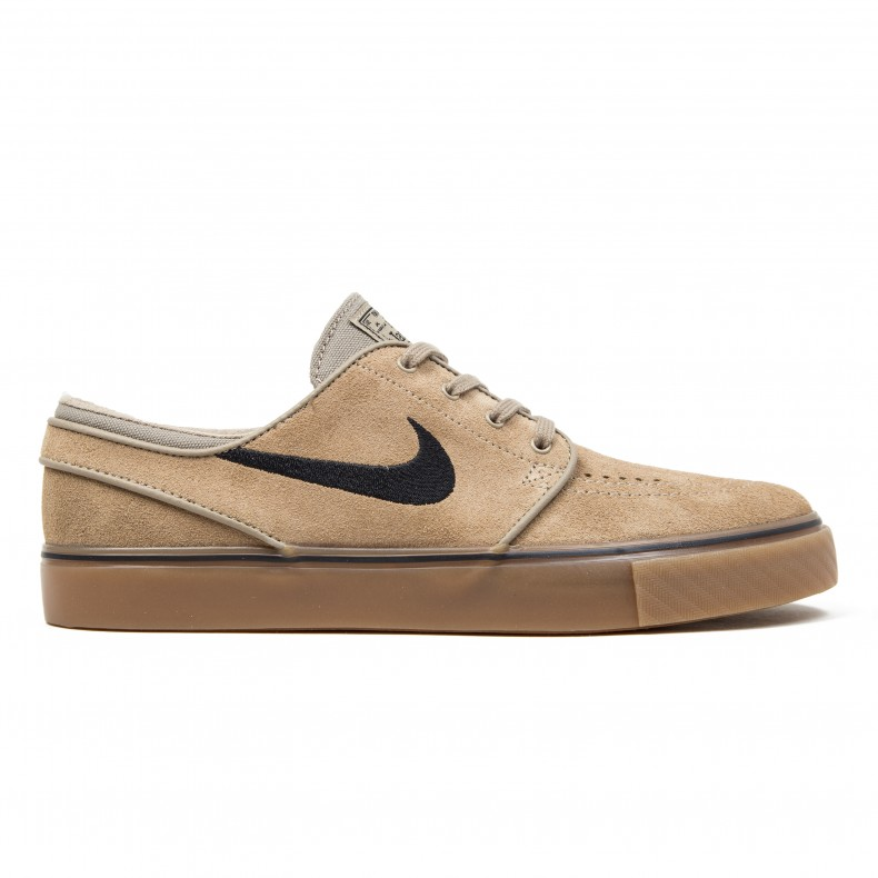 sports shoes 1d649 26704 Nike SB Zoom Stefan Janoski (Khaki Black-Gum Light Brown) - Consortium.