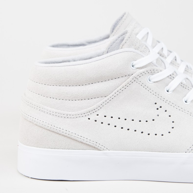 buy popular a2772 896ab Nike SB Zoom Stefan Janoski Mid RM SE. (White White-Vast Grey-Gum Yellow)