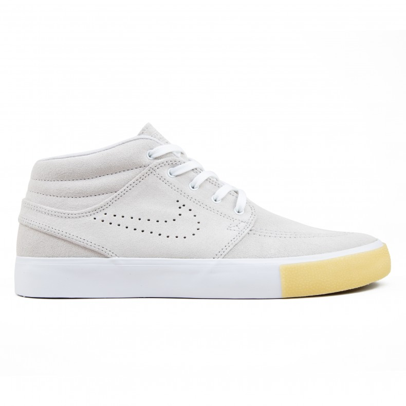 magasin d'usine e3508 fc40b Nike SB Zoom Stefan Janoski Mid RM SE (White/White-Vast Grey-Gum Yellow)