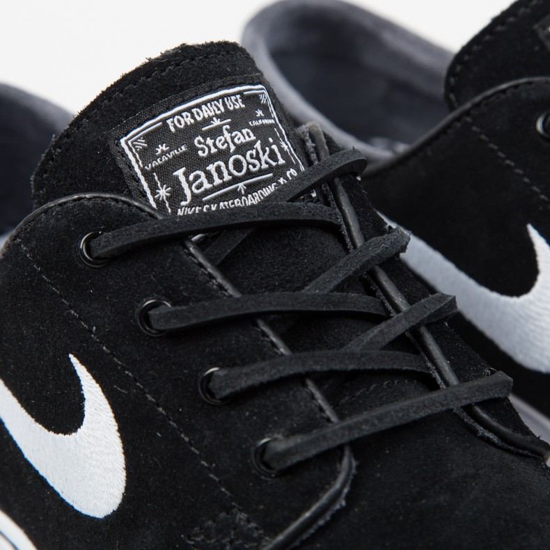 new product 45c41 bdcda Nike SB Zoom Stefan Janoski OG (Black White-Gum Light Brown) - Consortium.