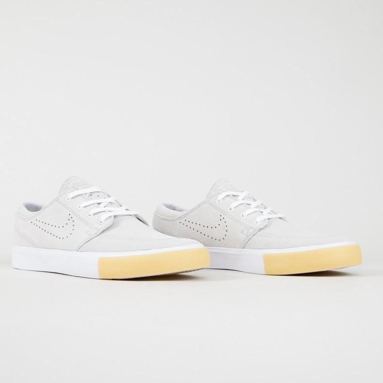 5db8e3cecc911 Nike SB Zoom Stefan Janoski RM SE (White White-Vast Grey-Gum Yellow) -  CD6612-109 - Consortium