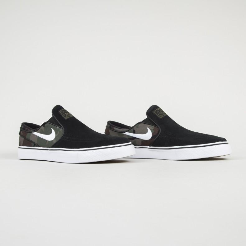 quality design 7efdc 32c98 Nike SB Zoom Stefan Janoski Slip. (Black White-Multi-Colour)