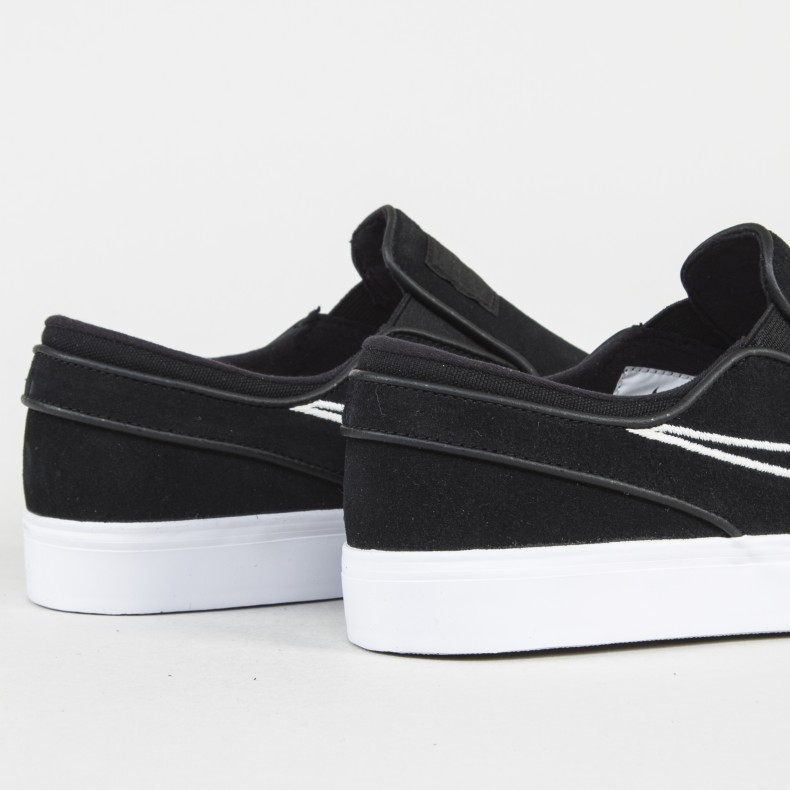 Nike SB Zoom Stefan Janoski Slip-On. (Black/Light Bone/White)