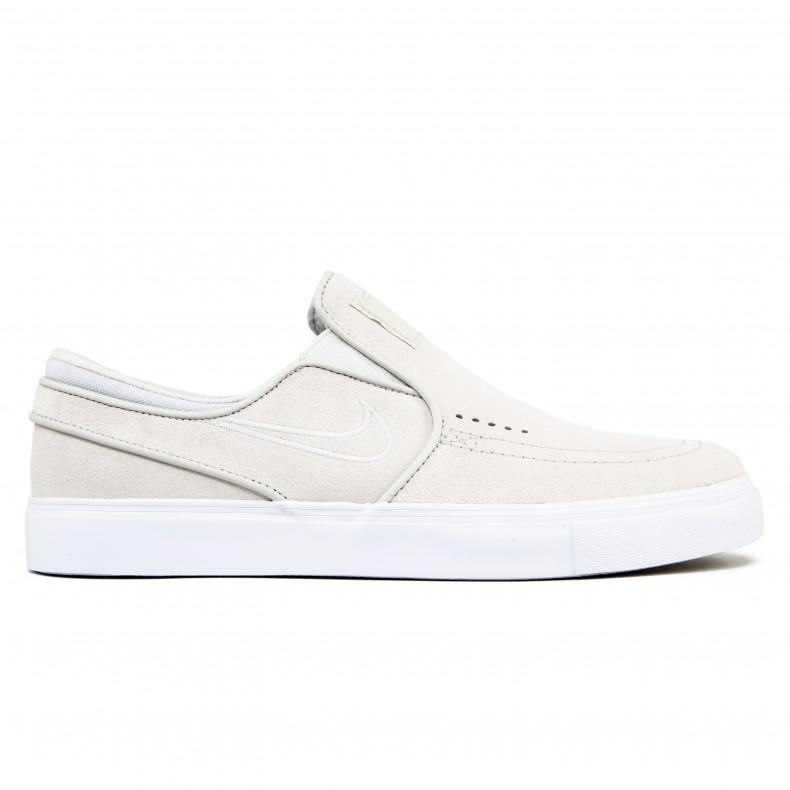 best cheap 64262 38826 Nike SB Zoom Stefan Janoski Slip-On (White Light Bone White) - Consortium.