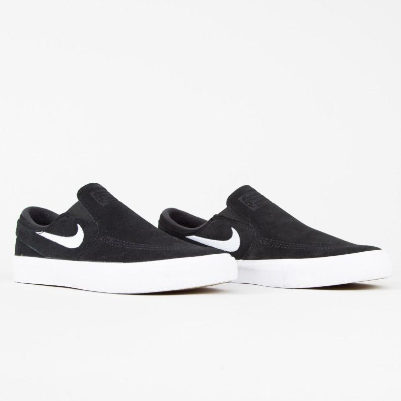 f75f4624fb Nike SB Zoom Stefan Janoski Slip RM (Black/White-White)